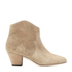 Dicker Suede Ankle Boots ✽ 000876 ∇ mytheresa.com