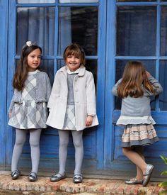 #Escola e #trabalho: #setembro dos #regressos #EspalhaEstilos | #Vestido #menina #quadrados #mkids