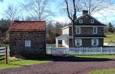 Daniel Boone Homestead...ancestral family home built by George Boone