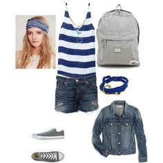 Fun day with friends, created by meitjie on Polyvore