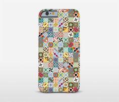 Mosaic Tiles Phone Cases Ceramic Tile Art HTC by Macrografiks