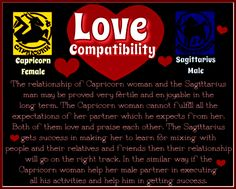 And Scorpio Capricorn Man Compatibility Woman Love