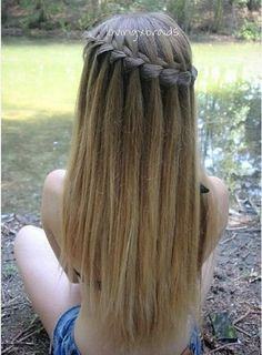 Lovely Bangs & Braid | Hair and Beauty Tutorials | Bloglovin