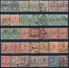 Morocco French Colonial Lot of 35 Diff Mint Used Stamps See M5210 | eBay