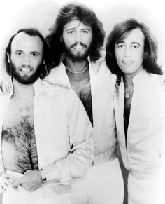 The Bee Gees....the brothers Gibb    They made GREAT music starting from the late 50s.  Click on their pic to view/listen to their song, 'Tragedy' recorded in 1979. I love Barry Gibb's falsetto on this track.