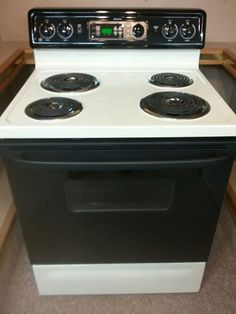 Reconditioned Certified G E Spectra Electric Stove Range 30 Standard Width