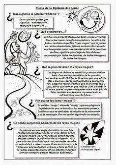 La Catequesis: Recursos Catequesis Los Reyes Magos - Epifanía del Señor