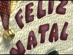 Panô de Natal Técnica Foundation - Coleção Vintage - Maria Eliza - YouTube