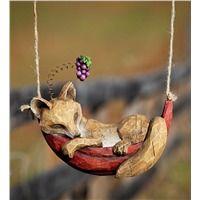 Daydreaming Animals Hanging Garden Sculpture