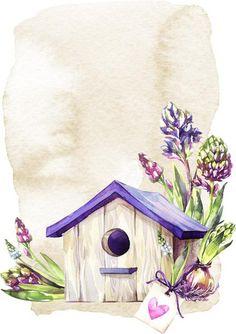 Декупаж в Кургане Watercolor Print, Watercolour Painting, Watercolor Flowers, Art Floral, Decoupage Paper, Paper Background, Rock Art, Painted Rocks, Flower Art