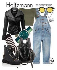 Holtzmann by leslieakay on Polyvore featuring polyvore, moda, style, WearAll, Giuseppe Zanotti, Lacoste, Edge Only, Illesteva, Paul Smith, fashion, clothing and ghostbusters