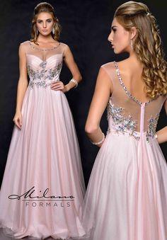 Milano Formals Dress E1774 at the Prom Dress Shop