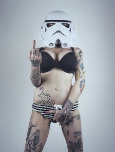 F U Stormtrooper Prints.A3 sized (420 x 297 mm) High Quality hand signed prints.PLEASE NOTE: These are only made when ordered, so please be patient with delivery times.