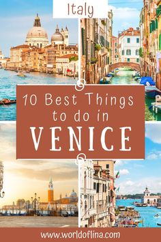 Here are the 10 best things to do in Venice for first-timers. All the unmissable things to see and do in the Italian lagoon city! #venice #venezia #italy #europetravel | places to see in Venice | what to do in Venice | Italy Travel | Venice Itinerary