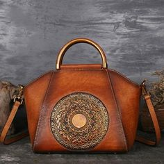 967ec1b6dc7 Free shipping on Luxury Leather Bucket Bag Women Metal Riveted Handbag Only  29.58 | icusexy.
