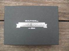 Sample Society June 2012 Box