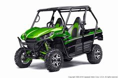 New 2016 Kawasaki Teryx LE ATVs For Sale in Ohio. Known for its legendary V-Twin power and versatility, the Kawasaki Teryx® is ready to tackle the toughest of obstacles. Built with Kawasaki Heavy Industry strength and backed by the Kawasaki Strong 3-Year Warranty, the Teryx side x side is the ultimate off-road adventure partner.