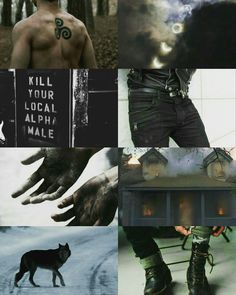 Derek Hale from Teen Wolf
