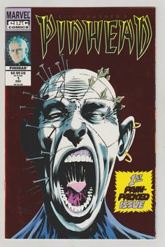 644 best Marvel Comic Books   TeamVintageUSA images on Pinterest Clive Barker s Pinhead Issue 1 Vintage comic 1993 by LeftHandPath