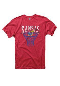 Kansas Jayhawks Mens Short Sleeve T-Shirt http://www.rallyhouse.com/kansas-jayhawks-mens-red-score-short-sleeve-t-shirt-22780652?utm_source=pinterest&utm_medium=social&utm_campaign=Pinterest-KUJayhawks $19.99