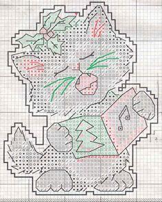 Schema punto croce Decorazione 1b