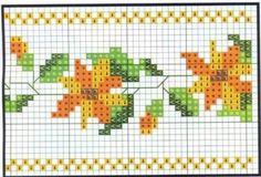 Cross Stitch Flowers, Amanda, Gardening, Embroidery, Face Towel, Napkins, Cross Stitch Embroidery, Towel, Tejidos