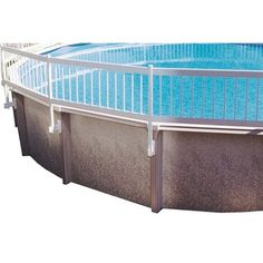 Improve your pool's safety and prevent accidental drowning with the above ground pool fencing. Safely keep unwanted intruders out of the pool and keep toys and water games inches The rigid vinyl const