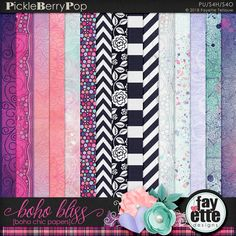Boho Bliss - Boho Chic Papers