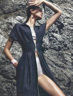 Toni Garrn for Dior Magazine 2013