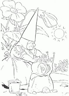 gnomes coloring pages | david_the_gnome_coloring_pages_016