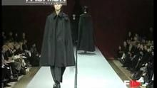"""Yohji Yamamoto"" Autumn Winter 1995 1996 Paris 1 of 7 pret a porter woman by FashionChannel"