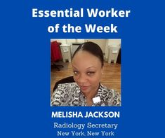 Essential Worker of the Week: Today, I'd like to acknowledge Melisha Jackson, a Radiology Secretary from New York, New York. We are grateful for you. Thank you for your service! Unsung Heroes by Benita Charles is an inspirational, heartfelt song full of positive vibes. The uplifting message of hope is a tribute to all the essential/frontline workers who are making a difference for the nation during the Covid-19 pandemic. We are grateful for their service! #newmusic
