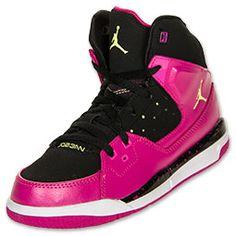 new products d763d ac140 Girls  Preschool Jordan Flight SC 1 Basketball Shoes   FinishLine.com   Pink