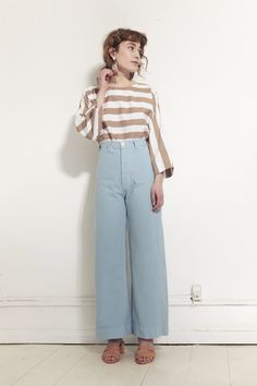 JESSE KAMM, Sailor Pants, Piscine |