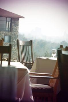 Grove Park Inn - Asheville, NC  Many days I spent studying from here.