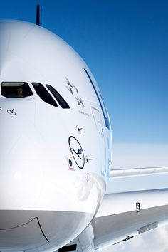Love these Lufthansa images...Airbus A380