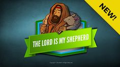 """Psalm 23 The Lord Is My Shepherd Kids Bible Lesson: This Sharefaith Kids lesson features the beloved Psalm 23. One of the Bible's favorite illustrations for God and his children is that of a shepherd and his sheep. Psalm 23 begins with the classic line """"The Lord is my Shepherd"""" and goes on with vivid imagery to describe the love, provision and compassion of our Father in heaven. Includes fantastic teaching resources like Q&A, memory verse and closing prayer."""