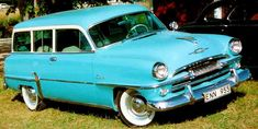 1954 Plymouth Savoy Station Wagon