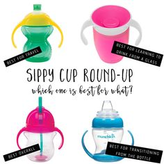 Mamahood: The Best Sippy Cups (for what), best trainer cup, how to choose sippy cup, motherhood, tod Baby Smoothies, Toddler Smoothies, Best Sippy Cup Baby, Weaning From Bottle, Transitioning To Sippy Cup, Toddler Bottles, Baby Weaning, Led Weaning, Baby Gadgets