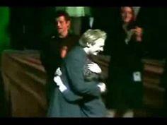 Hugging Clay Aiken