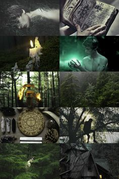 "skcgsra: "" male forest witch aesthetic (requested) more here // request here "" Seeing your own posts on your dash for the first time!"