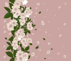 shipovnik fabric by katja_saburova on Spoonflower - custom fabric