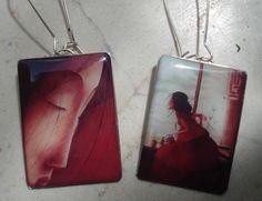Unique Handmade Resin Earrings