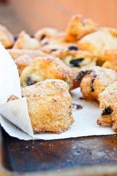Blueberry Breakfast Fritters