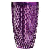 "Found it at Wayfair - Classic Galway Amethyst Raindrop 10"" Vase"