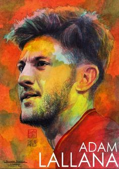 Happy New Year 2017.Tonight Match Day,Common Reds, Let's fighting for 3 points.Adam Lallana : Liverpool season 2016-2017 #Liverpool #TheKopArtsStudio
