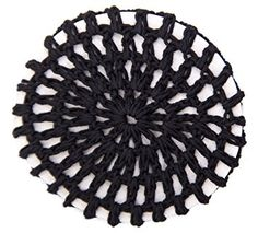 Knit Bun Holder Available in 6 colors (Black) Review
