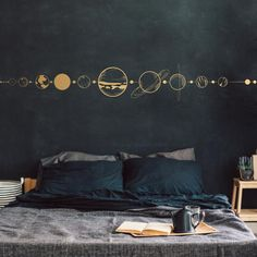 Wall Murals Bedroom, Bedroom Wall Designs, Bedroom Wall Paints, Mural Wall, Apartment Wall Art, Floor Decal, Home Room Design, Kitchen Designs, My Room