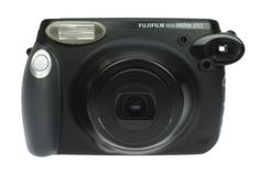 This mucho macho Japanese Fuji Instax 210 packs a hefty punch in an instant! See your photos in super-wide format, with a retro-bright colour finish reminiscent of the classic Polaroid vibe that we love! Includes a close-up lens and strap.