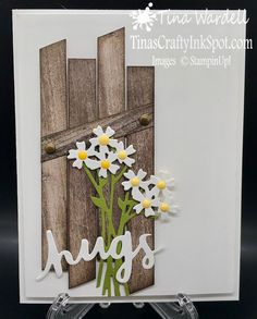 Daisy Hugs ⋆ Tina Wardell~Stampin' Up! Independent Demonstrator